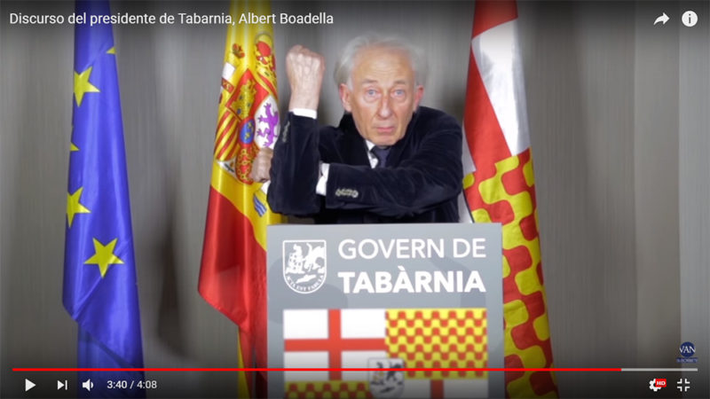 Davide Zambon Copywriter - Il presidente di Tabarnia e il troll marketing
