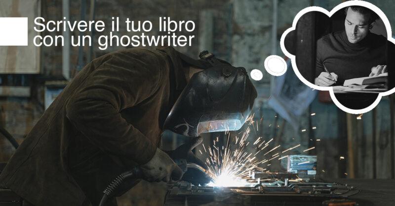Cover di scrivere il tuo libro con un ghostwriter